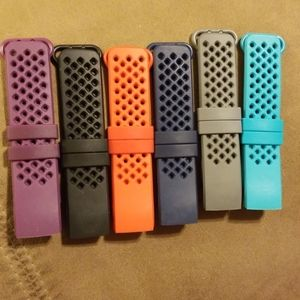 Jewelry - Set of 6 Fitbit Charge 3 replacement bands